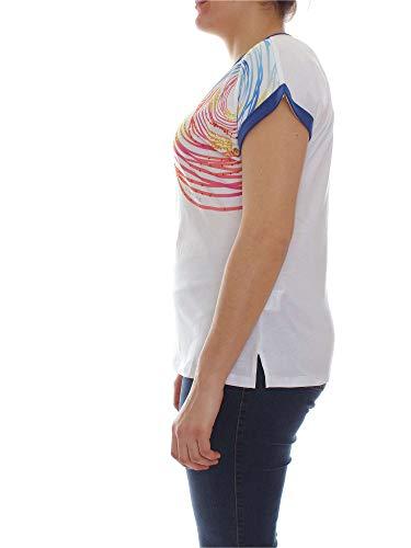 Luisa Mujer 8365 Viola Camiseta Blanco G312f0 C1Yqr0xw1