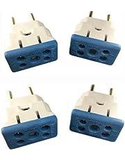 4 Plugs Adaptadores De Tomadas 10a/20a Bob Para Secador, Microondas Etcs