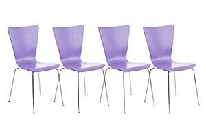 La 4ta silla del invitado del juego Aaron de color de malva