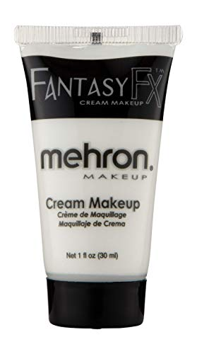 Mehron Makeup Fantasy F/X Water Based Face & Body Paint (1 oz) (White) -