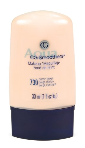 CoverGirl Smoothers Liquid Make Up, Classic Beige 730,  1-Ounce Packages (Pack of 2) Cover Girl Smoothers Liquid Makeup