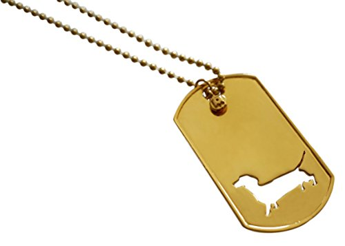 Mochi & Jolie Dachshund Tag Necklace by Mochi & Jolie