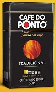 Cafe Do Ponto Coffee - Tradicional- 17.6 , One Pack