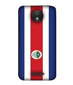 ColorKing Football Costa Rica 10 Multicolor shell case cover for Motorola Moto C