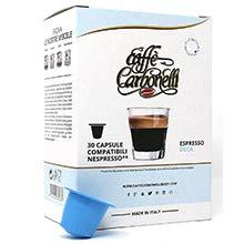 120 Cápsulas de Café Compatibles Nespresso - Caffè Carbonelli descafeinado - espresso napolitano: Amazon.es: Alimentación y bebidas