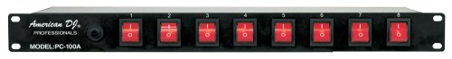 American Dj Pc-100A Rack Mount Power Switcher