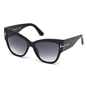 Sunglasses Tom Ford TF 371 FT0371 01B shiny black / gradient smoke