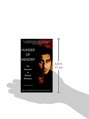 education and richard rodriguez Excerpt: 'hunger of memory' i remember to start with that day in sacramento — a california now nearly thirty years past — when i first  the education of richard rodriguez by richard .