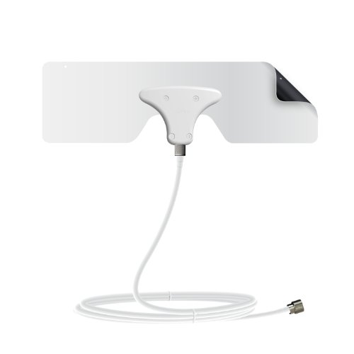 Mohu Leaf Metro TV Antenna, Indoor, Portable, 25 Mile Range,