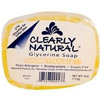 clearly-natural-soap-bar-glyc-honeysckle