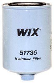 Wix 51736 Spin-On Hydraulic Filter, Pack of 1