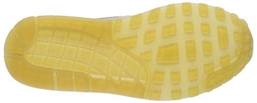 Nike Wmns Air Max 1 Prm - Zapatillas Mujer Beige (mtllc slvr/strng-snst glw-grn 006)