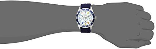 Nautica Men's NAD13502G NST 07 Flag Multi Analog Display Japanese Quartz Blue Watch