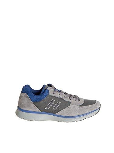 Hogan Sneakers Uomo Hxm2540s420e4u559n Camoscio Blu/Grigio