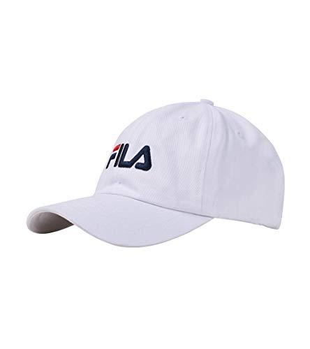 Fila Men's Baseball Cap Hat (White)
