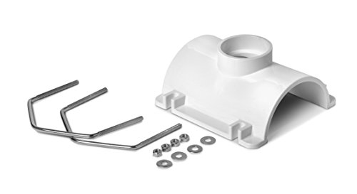 Oatey 43791 PVC Saddle Tee Kit, 4-Inch x 2-Inch