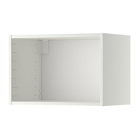Ikea Metod Corpus Wall Cabinet White Amazon Co Uk Kitchen Home