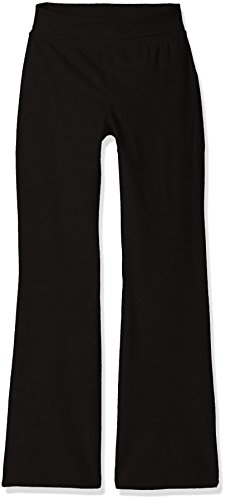 The Children's Place Big Girls' Yoga Pants, Black 9059, Large/10/12