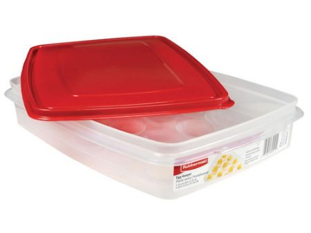 Rubbermaid Specialty Food Storage Containers, Egg (Devil Egg Container)
