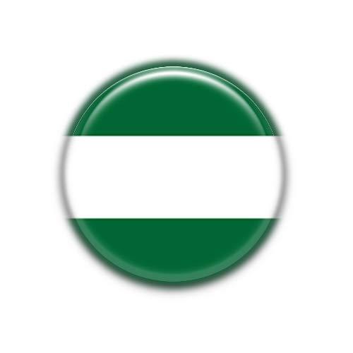Andalucia : Bandera Comunidad Autonoma Española, Pinback Button Badge 1.50 Inch (38mm)