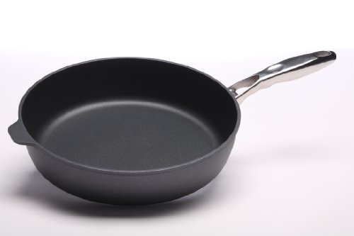 Swiss Diamond Induction Nonstick Saute Pan with Lid, Stainless Steel Handle - 5.8 qt (12.5'') by Swiss Diamond (Image #1)