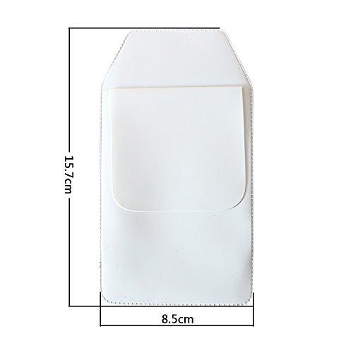 TKOnline 12 Pcs White Classical Heavy Duty Pocket Protectors for Pen Leaks School Hospital Office Supplies by TKOnline (Image #2)