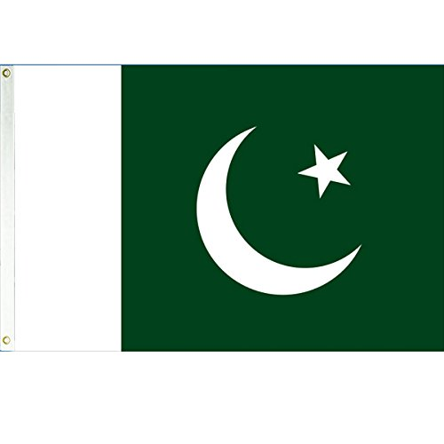 Pakistan 3x5 Polyester Flag