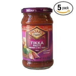 Pataks Tikka Paste 10 Oz (Pack of 5)
