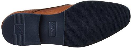 Daniel Hechter 811122031100, Zapatos de Cordones Derby para Hombre Marrón (Cognac)