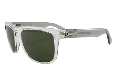 Electric Visual Knoxville Square Sunglasses Cool Grey Frame Melanin Grey - Electric Sunglasses