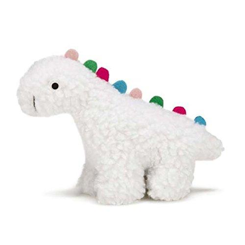 Grriggles Fresh Water Berber Dinos Dog Toy, Small, White