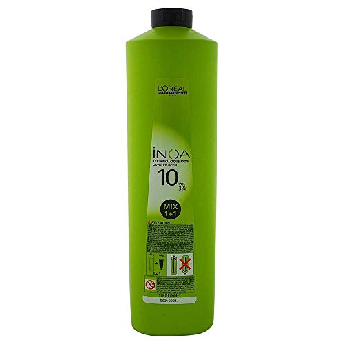 LOreal Inoa Oxydant 3% - 1000 Mililitros, rubio claro (3474630417762)