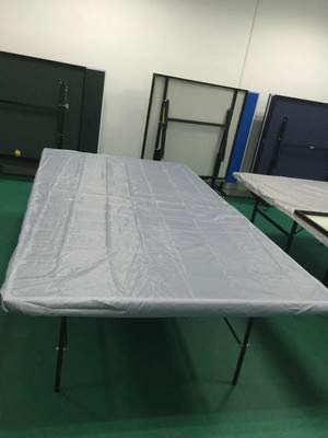 Heavy Duty Dual Function Indoor &Outdoor Ping Pong Table Covers, Waterproof & Dustproof Table Tennis Table Cover to Protect and Prevent Damage, Weather-Resistant and Designed to Fits Most Tables(HZC1 by Hersent (Image #2)
