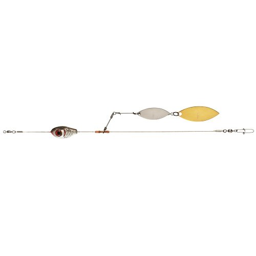 Booyah Bait Company Boo Spin Willow Blade Rig, (0.25 Ounce Cranks)