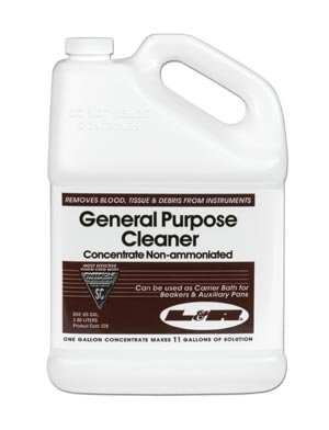 L&R General Purpose Cleaner Concentrate, Gallon Bottle (Non Ammoniated) 228