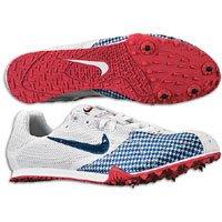 Nike Women's NIKE ZOOM JANA STAR III TRACK AND FIELD SHOES 9.5 (WHITE/OBSIDIAN/SPORT RED)