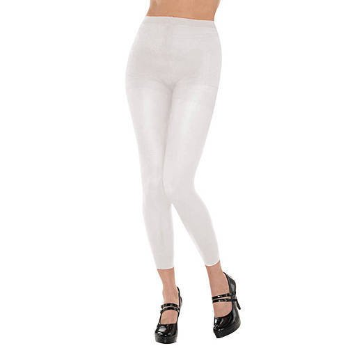 Amscan Footless Tights - Adult, Party Accessory, White