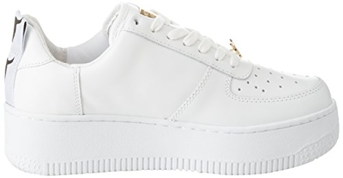 Leather Donna Windsor Sneaker Bianco Racerr White Smith qRPPwXB