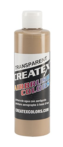 (Createx Colors Paint for Airbrush, 8 oz, Transparent)