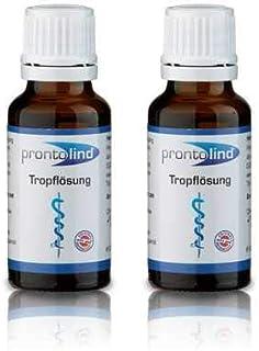 2 x Pronto Lind tropflösung 20 ml – piercingpflege óptima en la asequible doble Pack
