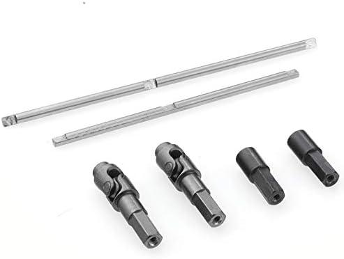 JVSISM Upgrade Steel Gear Bridge Axle Gears for WPL B14 B24 C14 C24 C34 C44 B16 B36 JJRC Q60 1//16 RC Car Spare Parts,6X6