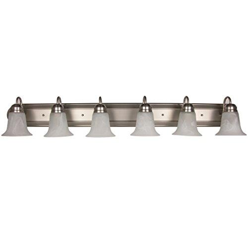Sunlite B648D/BN/AL 45445-SU Bathroom Vanity Fixture 48