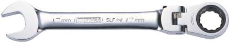 【Amazon.co.jp 限定】KS TOOLS GEARplusフレキシブルロッキング組み合わせがハングタブ付き スパナ 19ミリメートルラチェット GEARplus flexible locking combination ratcheting spanner 19mm on hang tag 503.4819-E