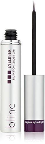 blinc Liquid Eyeliner, Purple (0.21 Ounce Liquid Eyeliner)
