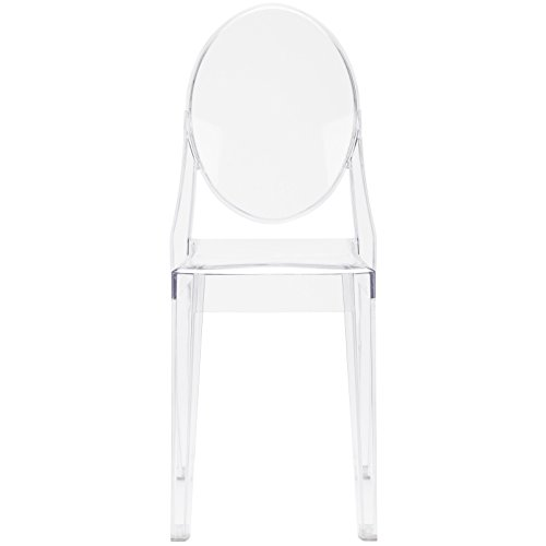 Poly and Bark Burton Side Chair in Clear (Set of 4) by POLY & BARK (Image #3)