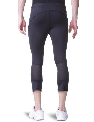 Craft–Leggings da corsa da uomo Active Run, Uomo, Laufbekleidung Active Run Knickers, nero, S