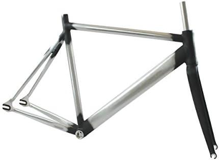 RIDEWILL BIKE Kit fijo Fixie pista tamaño 56 (de carbono carretera ...
