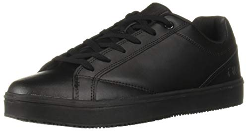 Fila Women's Memory Amalfi Slip Resistant Work Shoe Food Service, Black 6.5 B US