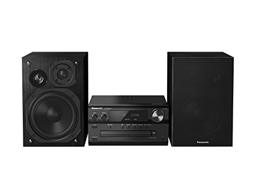 Panasonic SC-PMX74EG-K Micro HiFi System (120 Watt RMS, CD, Radio UKW/DAB+, Bluetooth, NFC) schwarz