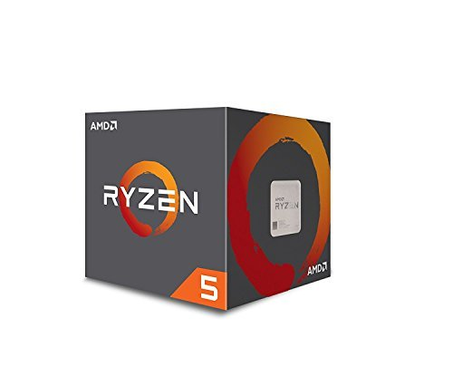 AMD Ryzen 5 1600 Processor with Wraith Spire Cooler (YD1600BBAEBOX) by AMD